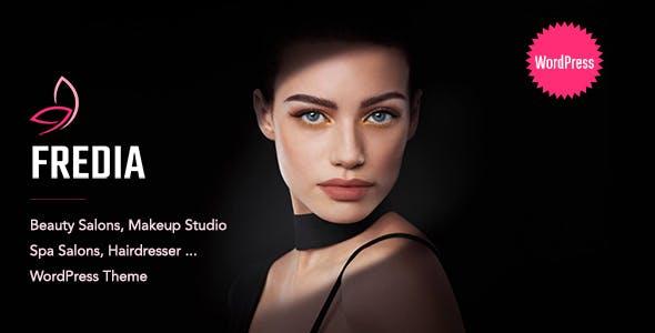 Fredia - Makeup Artist WordPress Theme