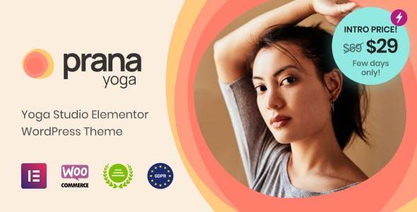 Prana Yoga - Theme for Elementor