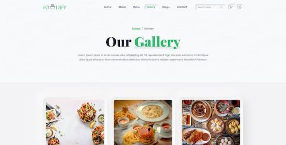 Foodify - Organic Food HTML5 Template