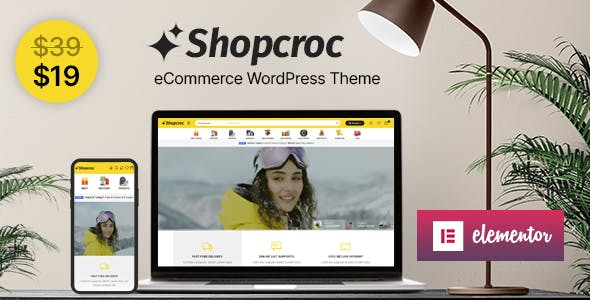 Shopcroc - WooCommerce WordPress Theme