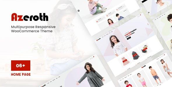 Azeroth - Multipurpose Responsive WooCommerce Theme