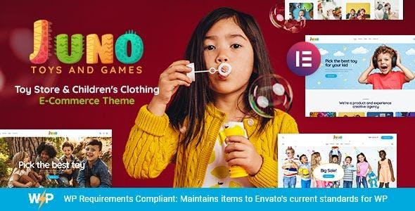 Juno   Kids Toys & Games Store WordPress Theme