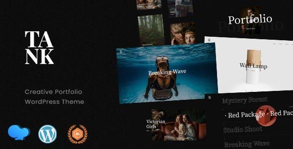 Tank - Creative Portfolio WordPress Theme