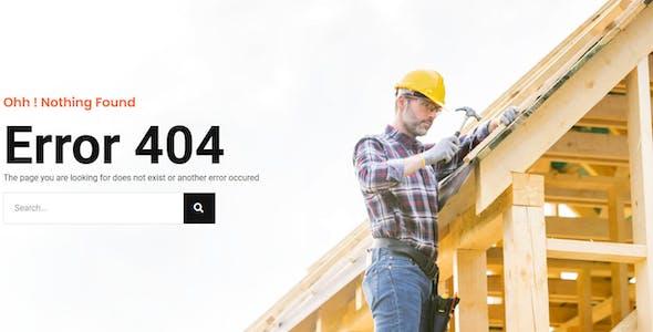 Roovi - Home Improvement Elementor Template Kit
