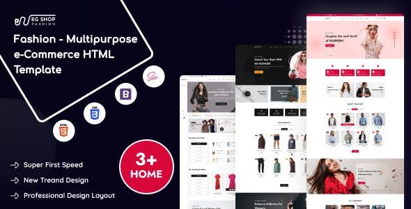 EG Shop Fashion - Multipurpose eCommerce HTML Template