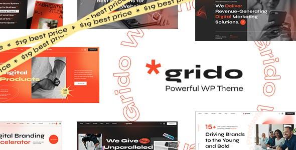 Grido - Creative Multipurpose WordPress Theme