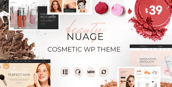 Nuage - Cosmetics & Beauty WordPress Theme