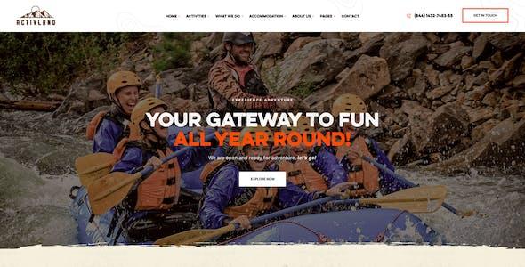 Activland - Outdoor Activities WordPress Theme