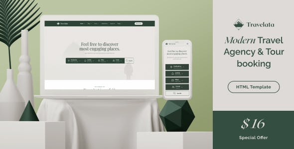 Travelata - Travel Agency HTML Template