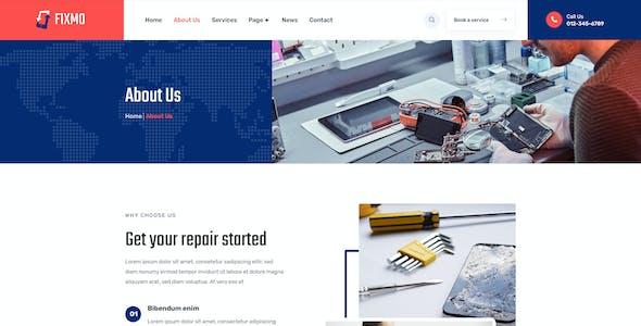 Fixmo – Smartphone, Tablet & Computer Repair Template Kit