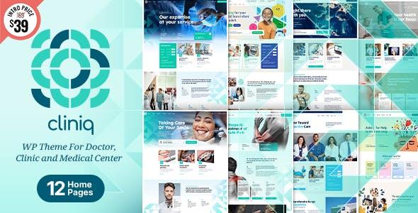 Cliniq - WordPress Theme for Doctor, Clinic & Medical