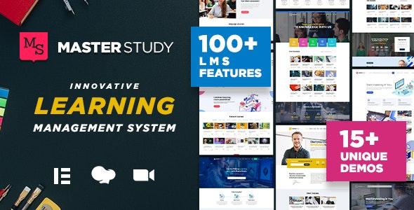 Masterstudy - Education WordPress Theme - Education WordPress