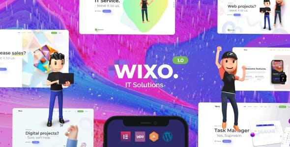 Wixo - Technology & IT Solutions WordPress Theme