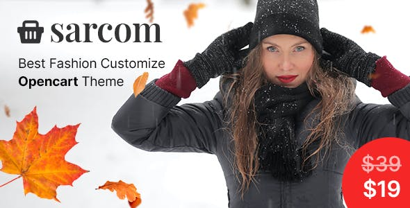 Sarcom - Fashion OpenCart Theme