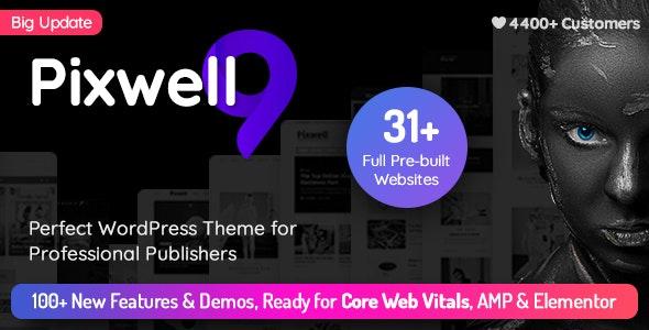 Pixwell - Modern Magazine - News / Editorial Blog / Magazine
