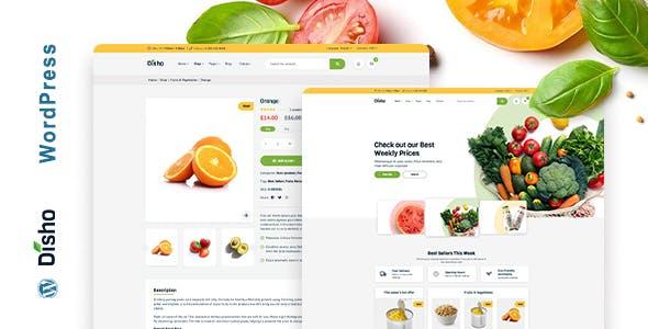Disho - Grocery Store WordPress theme