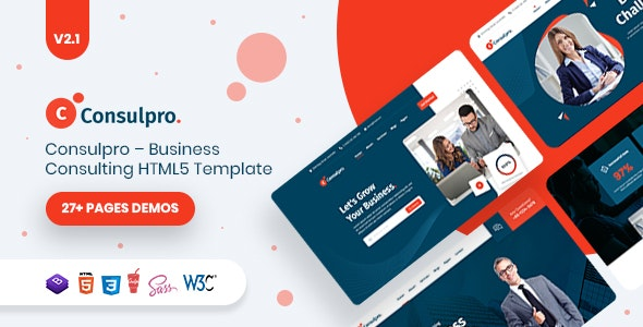 Consulpro – Business Consulting  HTML5 Template - Business Corporate