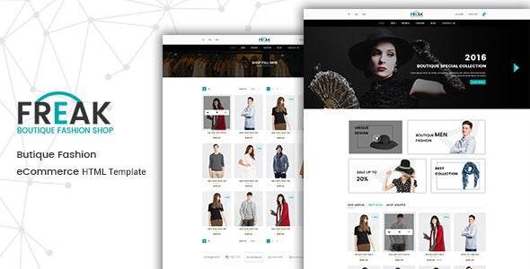 Freak - Fashion HTML Template - Fashion Retail
