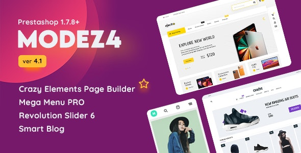 MODEZ - Responsive Prestashop Theme - Shopping PrestaShop