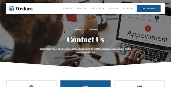 Wedora - Events Planner Business Elementor Template Kit