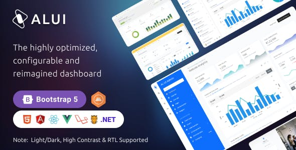 ALUI - Bootstrap Admin Dashboard Theme & UI Kit