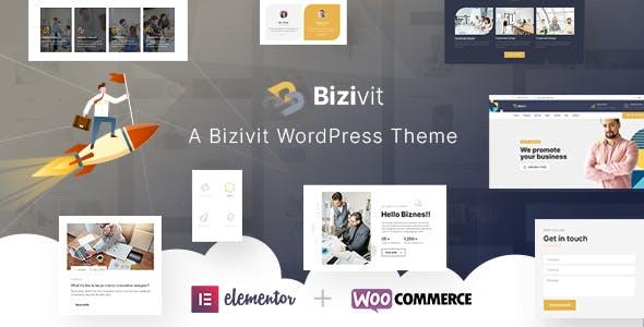 Bizivit - Business Elementor Template Kit