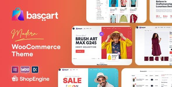 Bascart - Modern WooCommerce WordPress Theme