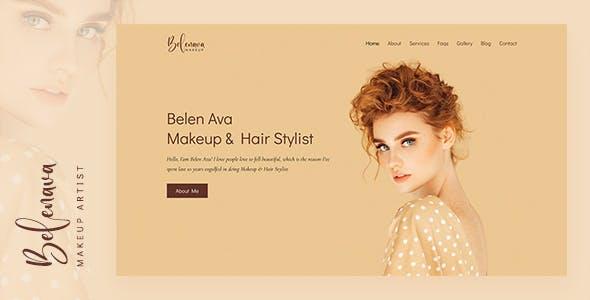 Belenava - Makeup Artist HTML Template