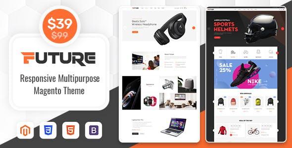 SM Future - Ultimate Technology/ Sport Magento 2 Theme