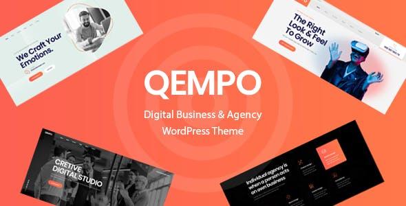 Qempo - Digital Agency Services WordPress Theme