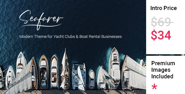 Seafarer - Yacht and Boat Rental Theme