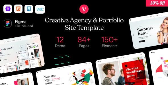 vCamp - Creative Agency & Portfolio HTML5 Template