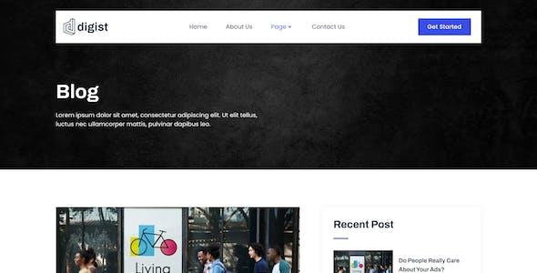 Digist – Digital Marketing Agency Elementor Template Kit