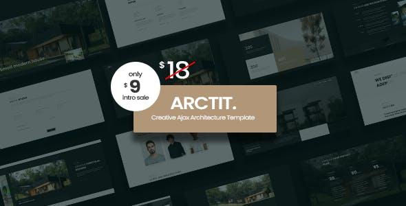Arctit - Architecture & Interior Ajax Template