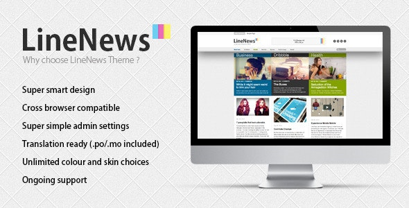 LineNews Wordpress Theme - Blog / Magazine WordPress