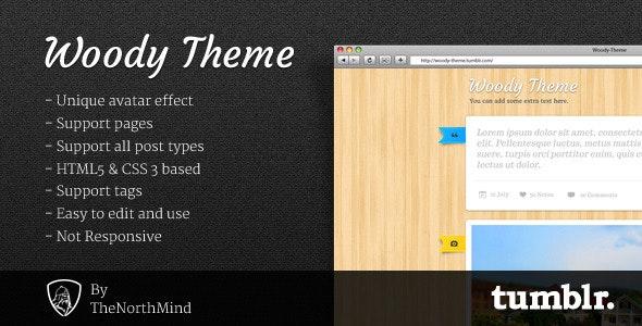 Woody Theme - Blog Tumblr