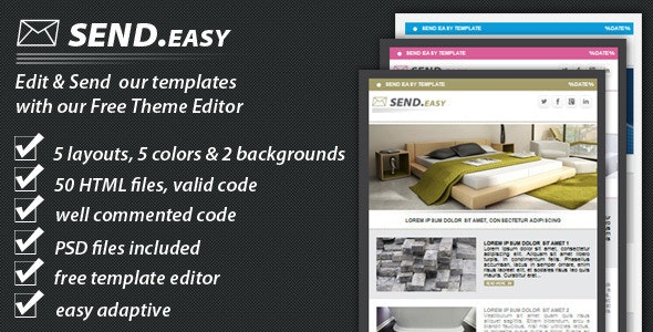 SendEasy email template - Email Templates Marketing