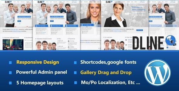 D-Line Responsive WordPress Theme - Portfolio Creative
