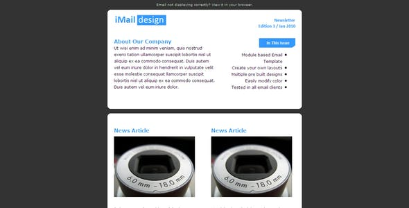 iMAIL - All Purpose Email Template
