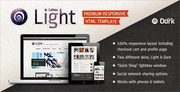 Callisto - Premium Responsive e-Commerce Template - Fashion Retail