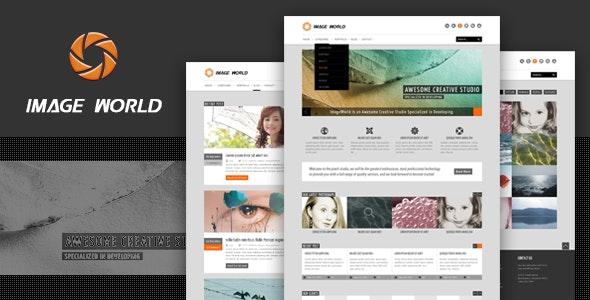 ImageWorld - PSD Templates - Photography Creative