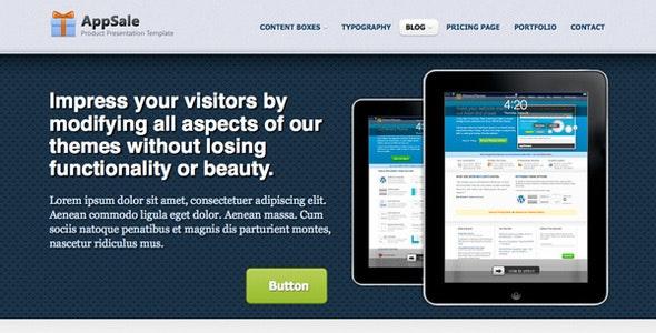 AppSale - Product Presentation Template - Creative Site Templates