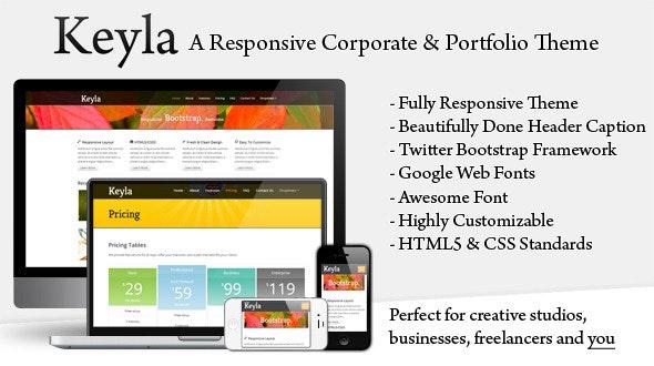 Keyla - Responsive Business Theme - Portfolio Creative