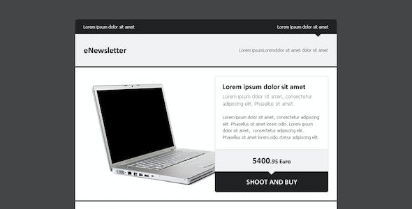 eNewsletter - A Clean Email Template
