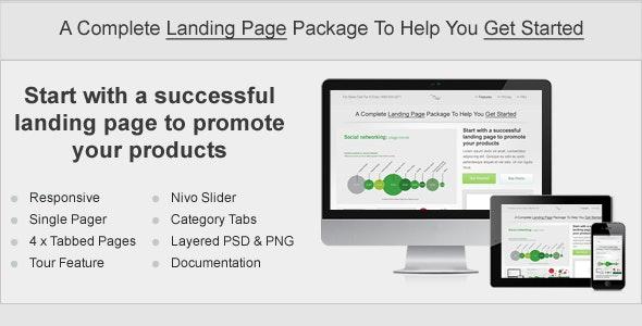 Start. Responsive Landing Page - Landing Pages Marketing