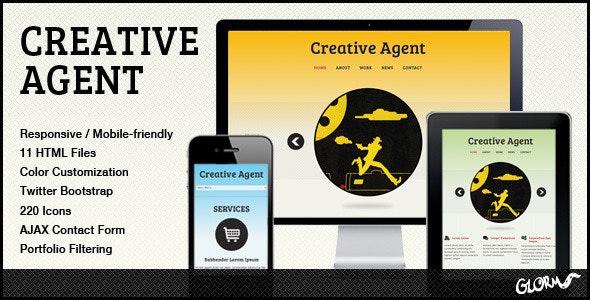 Creative Agent - Responsive Studio Portfolio - Creative Site Templates