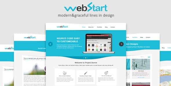 WebStart-PSD Template