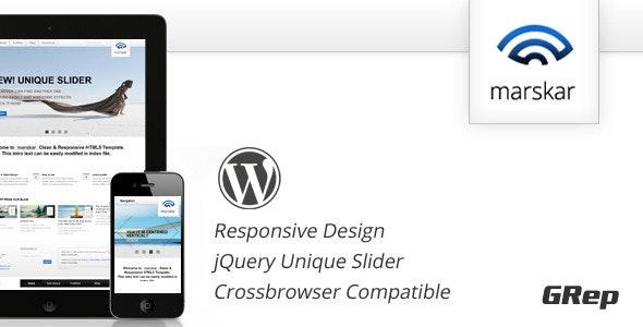 Marskar - Responsive HTML5/CSS3 WP - Business Corporate