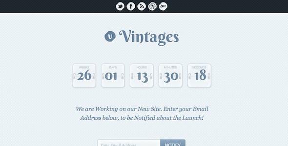 Vintages - Under Construction Theme