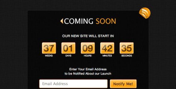 SoonSid - Coming Soon Theme